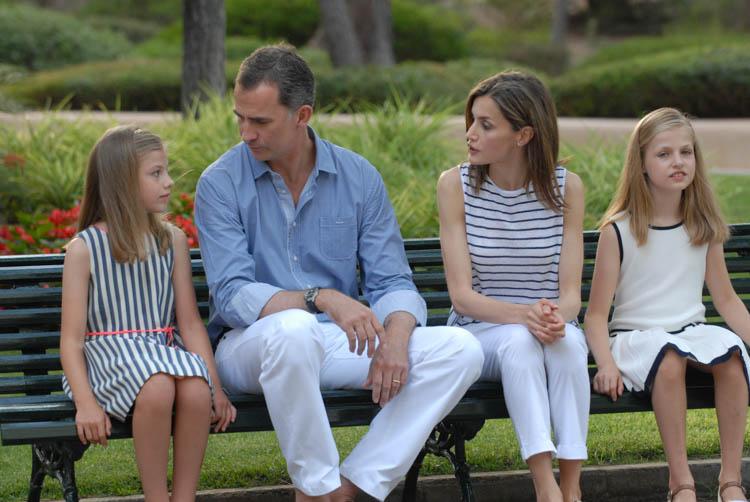 Fotografía de reportaje. Familia Real en Marivent 10