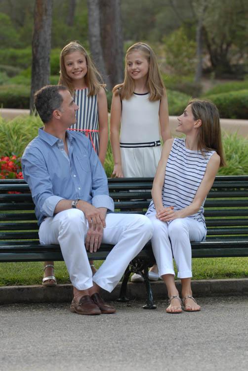 Fotografía de reportaje. Familia Real en Marivent 11