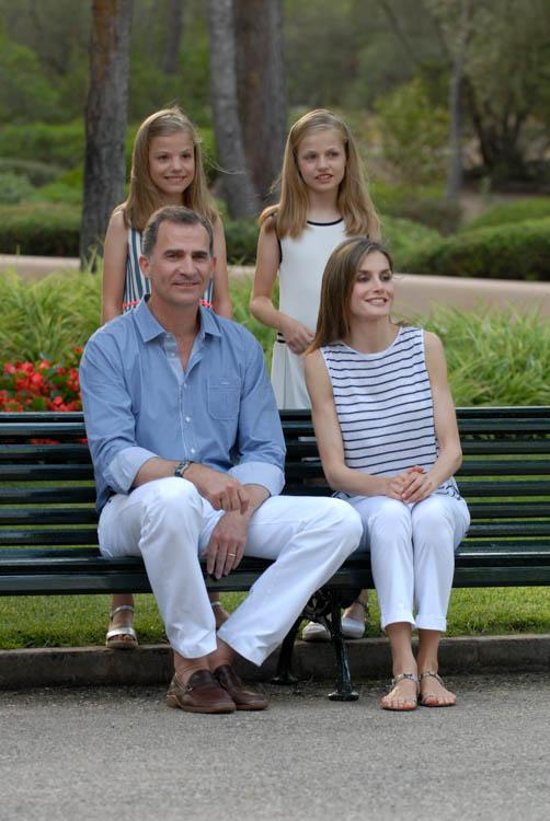 Fotografía de reportaje. Familia Real en Marivent 12