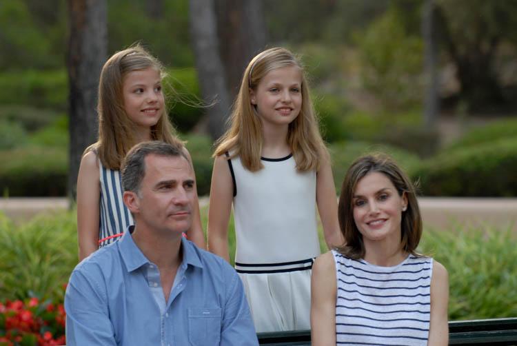 Fotografía de reportaje. Familia Real en Marivent 13