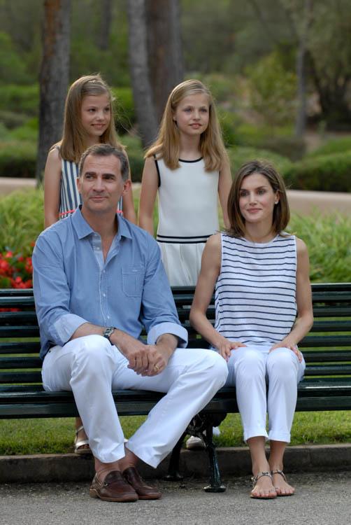 Familia Real en Marivent