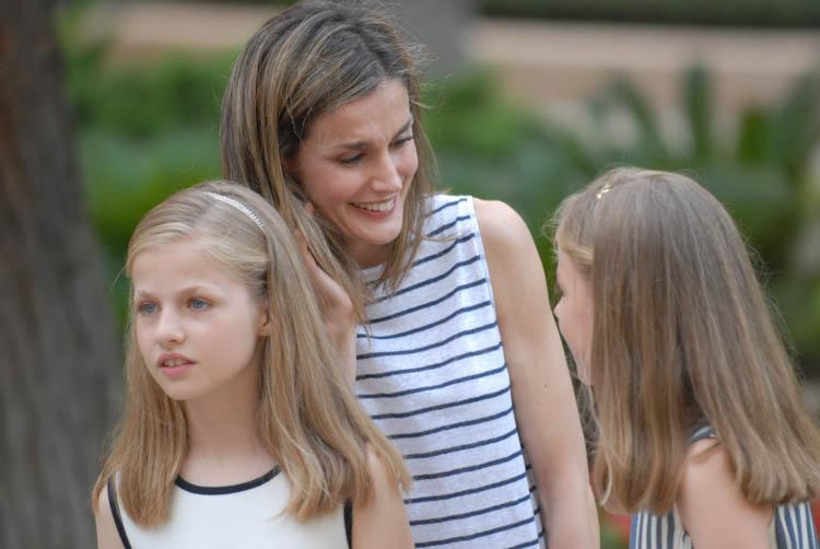 Fotografía de reportaje. Familia Real en Marivent 21