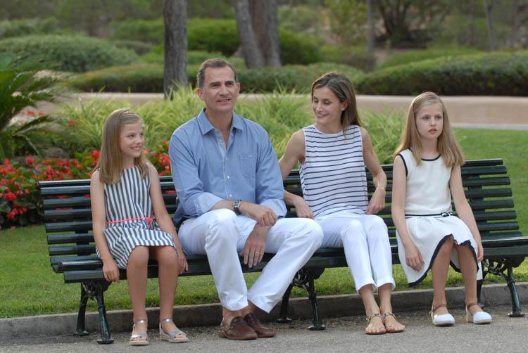 Fotografía de reportaje. Familia Real en Marivent 4