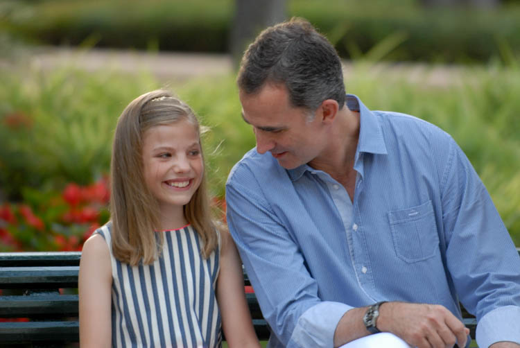 Fotografía de reportaje. Familia Real en Marivent 6