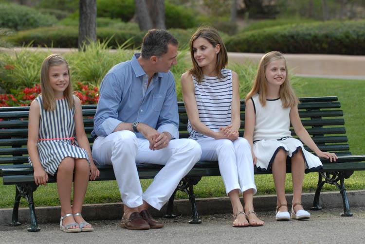 Fotografía de reportaje. Familia Real en Marivent 9
