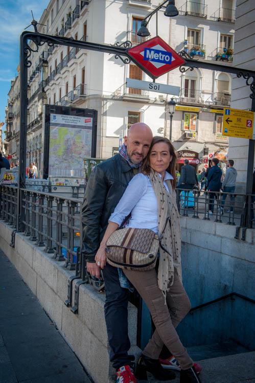 Madrid tour. Isaac Gemma Laura 10