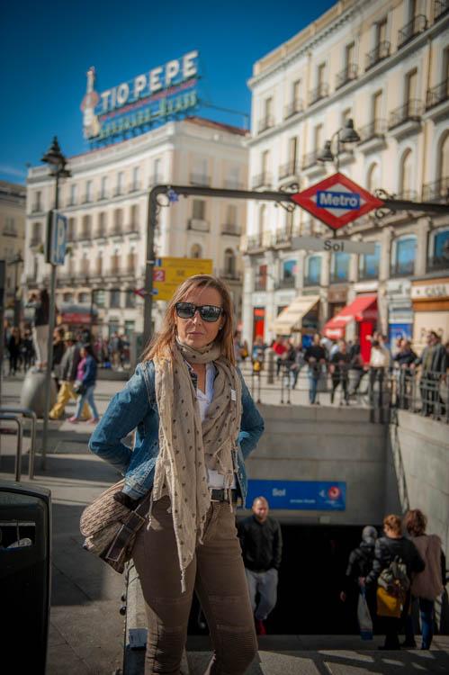 Madrid tour. Isaac Gemma Laura 11