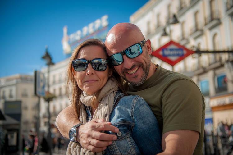 Madrid tour. Isaac Gemma Laura 12