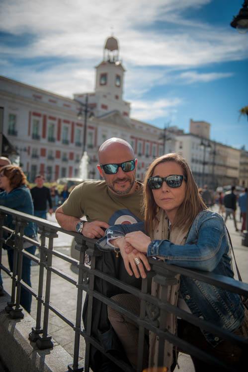 Madrid tour. Isaac Gemma Laura 13