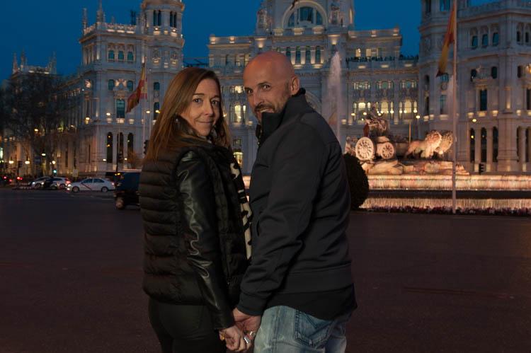 Madrid tour. Isaac Gemma Laura 17