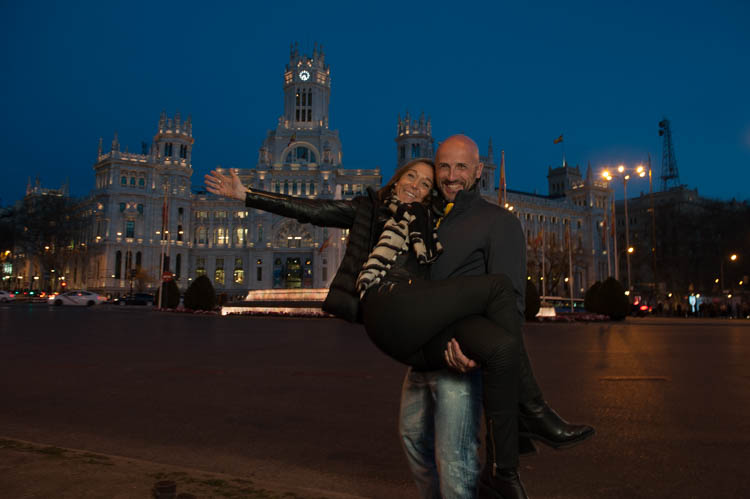 Madrid tour. Isaac Gemma Laura 18