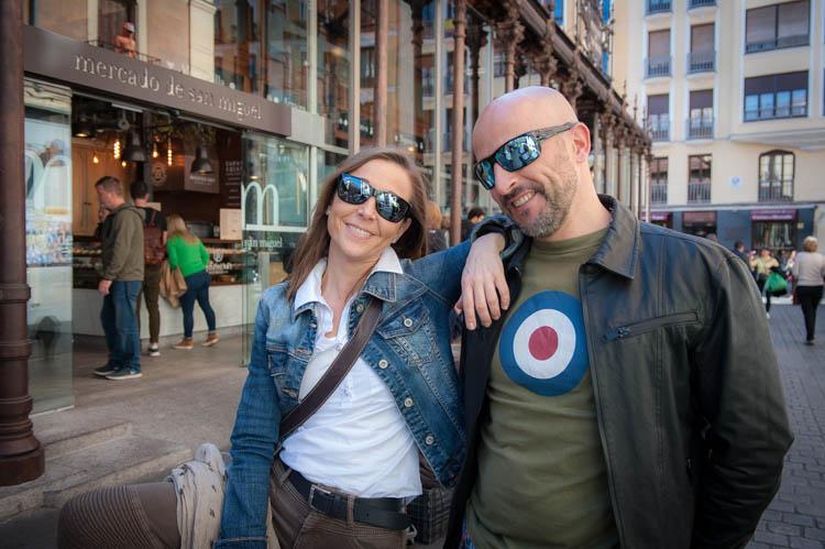 Madrid tour. Isaac Gemma Laura 5