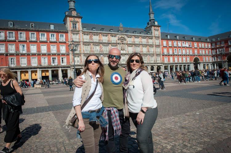 Madrid tour. Isaac Gemma Laura 6