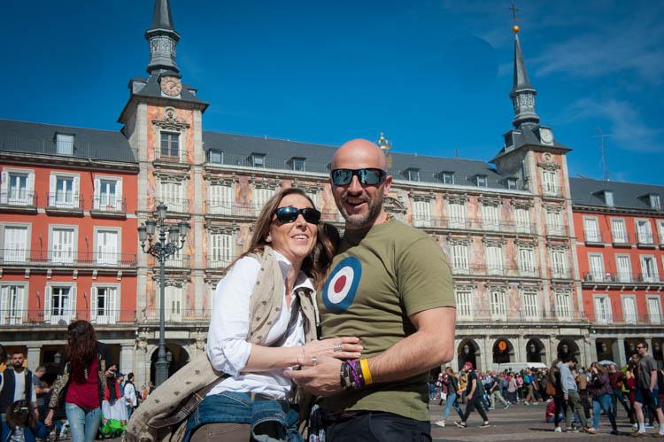 Madrid tour. Isaac Gemma Laura 7