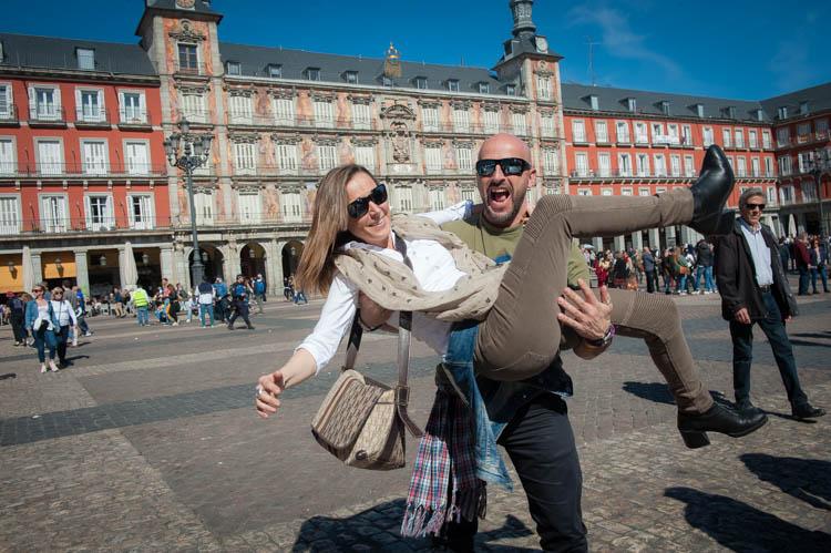 Madrid tour. Isaac Gemma Laura 8
