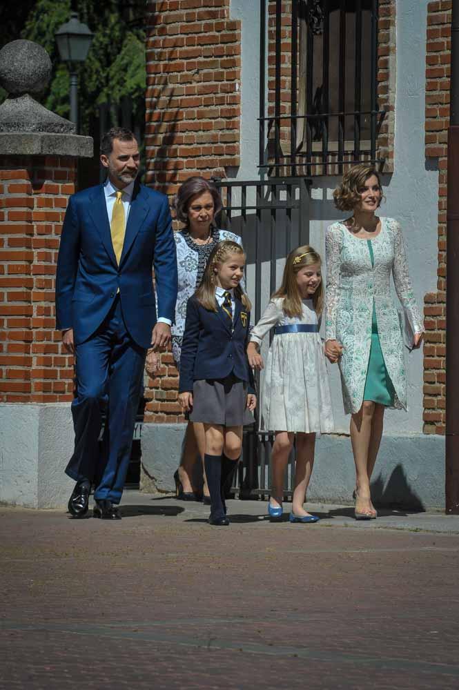 Comunion Infanta Leonor