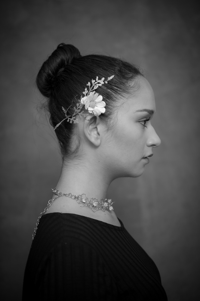 Retrato blanco y negro